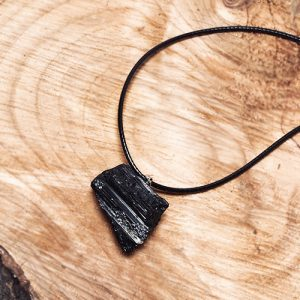 Buddha Barn Black Tourmaline pendant necklace